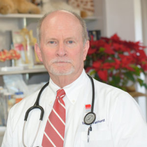 Dr. Vern Fairhurst, DVM, recommendation for Cincinnati certified dog trainer Lisa Desatnik