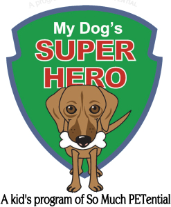 My Dog's Super Hero Cincinnati kid's program on dog ownership and training by Lisa Desatnik
