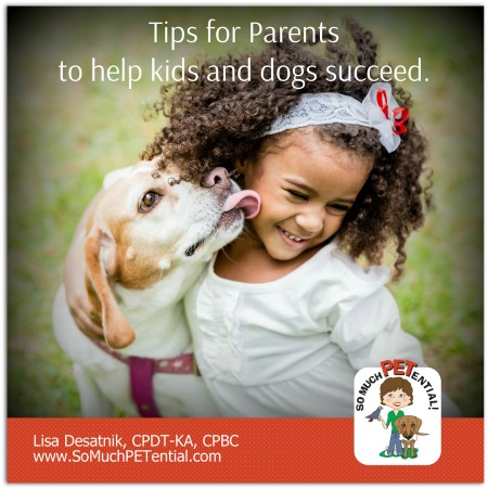 Living with Kids and Dogs: Parenting Tips by Cincinnati Certified Dog Trainer, Lisa Desatnik, CPDT-KA