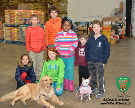 Cincinnati dog training class for kids by Cincinnati dog trainer Lisa Desatnik