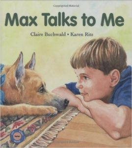 Max Talks To Me, a book for kids on dogs