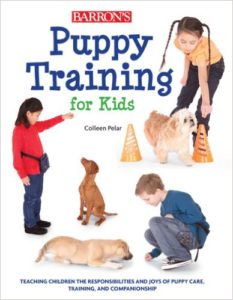 Puppy Training for kids, a book for children on dogs